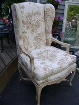french upholstered arm chair in Westmont, Illinois