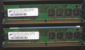 Computer RAM Memory, 1 Gig DDR2 in Ramstein, Germany