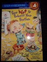 How Not to Babysit Your Brother softcover book in Camp Lejeune, North Carolina