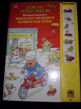 Richard Scarry's Sergeant Murphy's Busiest Day Ever push button book in Camp Lejeune, North Carolina
