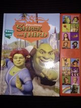 Shrek the Third-Deluxe Sound Storybook in Camp Lejeune, North Carolina