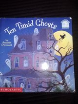 Ten Timid Ghosts softcover book in Camp Lejeune, North Carolina