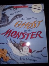 The Teeny Tiny Ghost and the Monster softcover book in Camp Lejeune, North Carolina