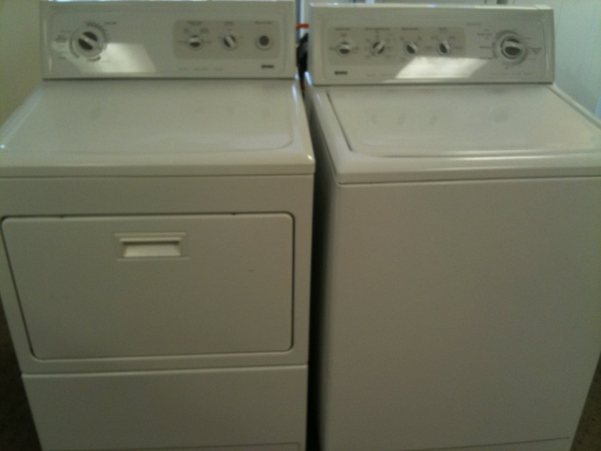 Attractive KITCHEN AID WASHER U0026 DRYER SET HEAVY DUTY SUPER CAPACITY REFURB WARNTY In  Fairfax